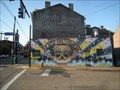 Image for New Amsterdam, Lawrenceville Neigborhood Mural - Pittsburgh, Pennsylvania