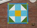 Image for Golden Memories painted barn quilt