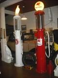 Image for Vintage Gasoline Pumps  Crane Store Museum - Williamsburg MO