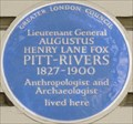 Image for Augustus Henry Lane Fox Pitt-Rivers - Grosvenor Gardens, London, UK