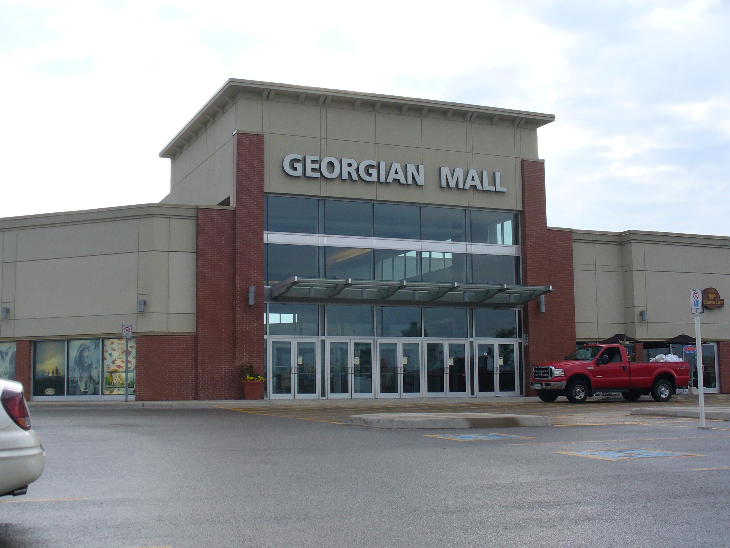 Georgian mall