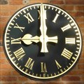 Image for Clock on offices, Bromsgrove, Worcestershire, England