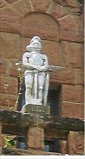 Image for Knight atop Historic Jail - Belle Fourche, SD