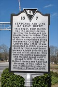 Image for Seaboard Air Line Railway Depot - McBee, South Carolina