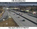 Image for I-90 at Broadway Avenue Webcam - Spokane, WA
