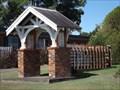 Image for Memorial Lychgate, St Matthew's Anglican Church, Wingham, NSW, Australia