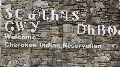 veritas vita visited Qualla Boundary (Cherokee Indian Reservation