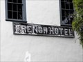 Image for French Hotel ghost sign - Monterey, California