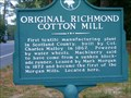 Image for First Cotton Mill in Scotland County, The Original Richmond Cotton Mill
