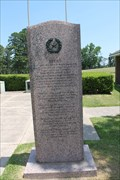 Image for Texas Monument, Battle of Mansfield - Mansfield, LA