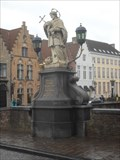 Image for Sanctus Joannes Nepomucenus - Bruges, Belgium.