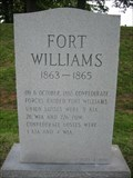 Image for Fort Williams 1863-1865