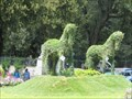 Image for Piazza di Siena Topiary Horses - Roma, Italy