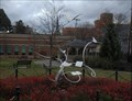 Image for Books and birds - Broome County Library garden, Binghamton, NY