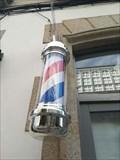 Image for Barber pole in Celanova - Celanova, Ourense, Galicia, España