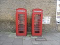 Image for Red Telephone Boxes - Bourne Road, Old Bexley, London, UK