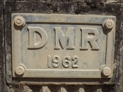 Close-up of the Dated Plaque for this bridge.1026, Sunday, 27 November, 2016