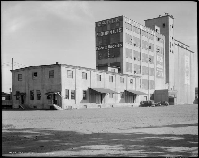 Flour Mill Lofts Denver eagle flour mill (now flour mill lofts) - denver, co image