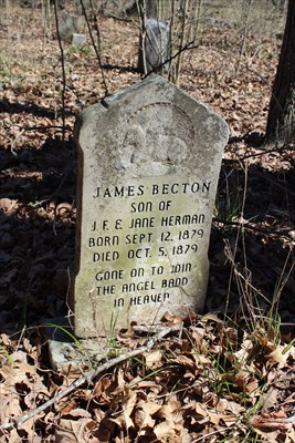 James Becton Herman, referenced on the historical marker