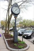 Image for E. Howard Clock, Main Street - Keene, NH