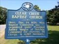 Image for Clear Creek Baptist Church - Washington, MS