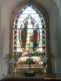 Image for Stained Glass Window, St Mary's - Snibston, Leicestershire
