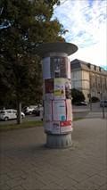 Image for Advertising column Smetanovy sady, Opava, Czech Republic
