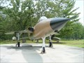 Image for F-105D Thuderchief - Arnold AFB Main Gate