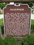 Image for Meadowmere Historical Marker
