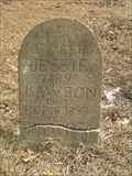Image for Jessie Gary Lawson - Second Damascus Baptist Church - Greenwood County, SC