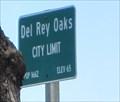 Image for Del Rey Oaks, CA - Pop: 1662