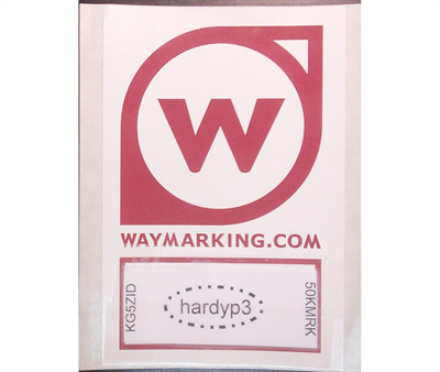 Waymark Sticker