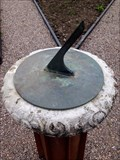 Image for Hercules garden sundial, Blair Atholl, Scotland, UK