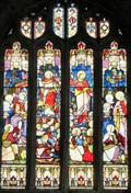 Image for Resurrection of Christ  - St Mary's  Church -  Carew,  Pembrokeshire, Wales.