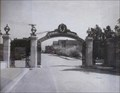 Image for Sather Gate looking south, 1910 - Berkeley, California