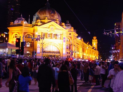 Flinders St. Station - Monopoly Australian Edition : Melbourne Australia