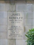 Image for James Brindley - Etruria, Stoke-on-Trent, Staffordshire, UK.