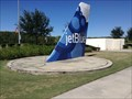 Image for JetBlue Tailfin Sundial - Fort Myers, FL