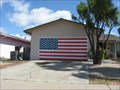 Image for American Flag Garage Door - Cupertino, CA