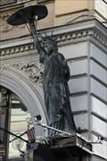 "Image for Statue of Liberty on the ""City Lounge"" - Sarajevo, Bosnia and Herzegovina"
