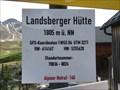 Image for Höhenmarke Landsberger Hütte, Österreich 1805 Meter