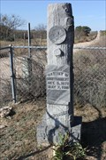 Image for Harvey W. Montgomery -- Calf Creek Cemetery, McCulloch Co. TX