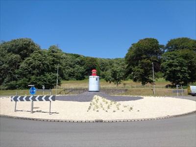 Replica Lighthouse - Burry Port