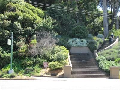 North-East Entrance, Buena Vista Park, San Francisco, CA