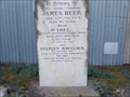 Image for Stanley Havelock Beer - Mortis St Cemetery, Goulburn, NSW