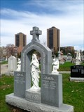 Image for Patsy Guzzo (1914-1993): 1948 Hockey Gold for Canada - Notre-Dame Cemetery, Ottawa, Ontario