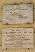 Image for Two plaques for victims of the Nazi regime - Nimes, France