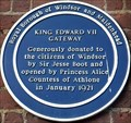 Image for King Edward VII - Thames Street, Windsor, UK