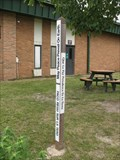 Image for Ridge Family Center for Learning peace pole - Elk Grove Village, IL