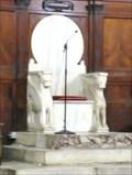 Image for Episcopal throne - Santa Maria in Trastevere - Roma, Italy
